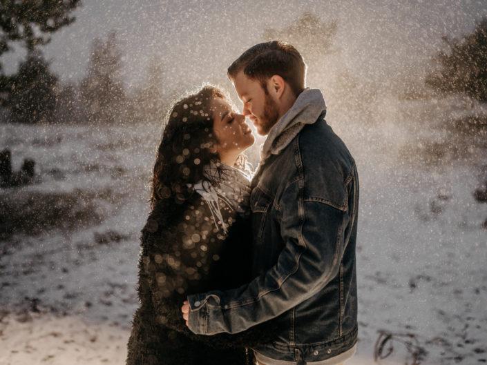 Winterliches Paarshooting in Bielefeld